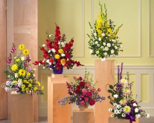 """""""Assorted Funeral Sympathy Flowers"""""""